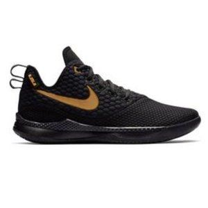 NIKE LEBRON WITNESS 3 black and gold